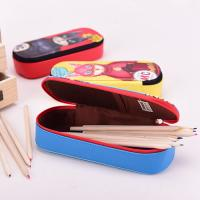Lining 210 D Student Pencil Pouches Kids , Double Sided Pencil Case / Pencil Box Manufactures