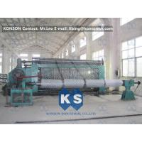 Automatic Hexagonal Wire Netting Weaving Machine / Gabion Mesh Production Line Manufactures