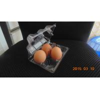 4 egg packaging plastic tray Manufactures