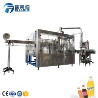 China 6000 BPH Plastic Bottle Carbonated Drink Filling Machine For Drinking Water Production Line on sale