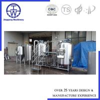 Customized Industrial Beer Brewing Equipment , 500 L Craft Beer System Manufactures