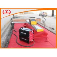 China Mini Portable CNC Cutting Machine , Single Side Computerized Plasma Cutter on sale