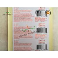 Custom Printed Labels With UPC Barcode Strong Adhesive For Clothes Packing Manufactures