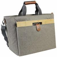 Portable 40L Large Insulated Cooler Tote Bags With Bamboo Wine Table Recyclable Manufactures