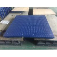 Electronic Industrial Floor Weighing Scales Wide Platform Scales For Warehouse Manufactures