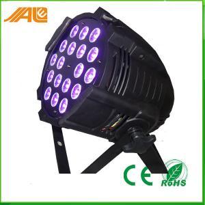 New Par Can Light 18pcs 15w Rgbwa Uv 6in1 Led Par Disco Stage Light / Dmx Par Light Manufactures