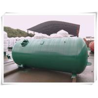 China Industrial Compressed Oxygen Air Storage Tanks , Liquid Oxygen Portable Tanks With Bracket on sale
