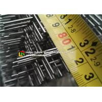 Welded Architectural Stainless Steel Wire Mesh 0.1 - 2m Length Gavlanized Finish Manufactures