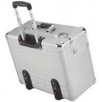 China Aluminium Skinned Business Pilot Case 17 Laptop compartment with wheels KL-TC152 on sale