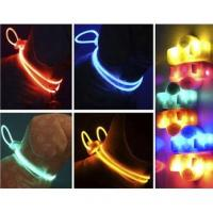 Yellow Silknet LED Flashing Nylon Dog Harness Manufactures
