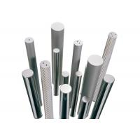 HRC45-55 Tungsten Carbide Tools Double Spiral Hole Round Bar Wear Resistance Manufactures