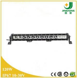 High power led light bar CREE 120w single row auto led light bar Manufactures