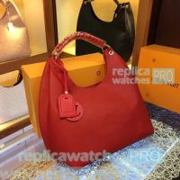 China Top Quality Clone LV Red Taurillon lv bags Leather Ladies lv handbag Shoulder Bag on sale