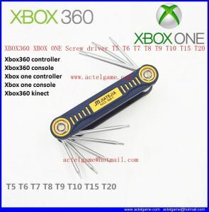 XBOX360 XBOX ONE Screw driver T5 T6 T7 T8 T9 T10 T15 T20 repair parts Manufactures