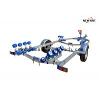 Fully Zinc Plated Small Aluminum Boat Trailer , 5960mm X 2200mm Lightweight Boat Trailer Manufactures
