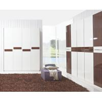 Hotel Interior Design by project Furniture in-wall Wardrobe cabinet high glossy melamine Manufactures