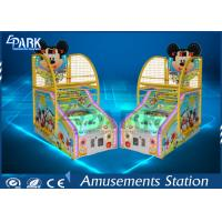 China 4 Levels Arcade Basketball Game Machine Colorful Digital Tube Display on sale