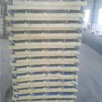 Quality 840mm glass wool sandwich roof panel with 30mm thickness for warehouse for sale