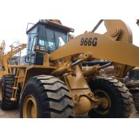 China Secondhand Wheel Loaders CAT 966G USED caterpillar 966 wheel loader on sale