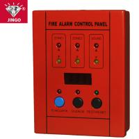 Conventional fire alarm systems master control panel 2 zones Manufactures