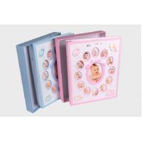 China Baby Photo Album First Year Memory Baby Albums 300 Photos on sale