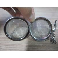 China Lightweight stainless steel air filter Tea Ball With Corrosion Resistant , Halogen Material on sale