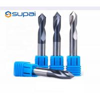 China High Hardness Chamfer Drill Bit 4 Flute Customized Length ISO Certification on sale