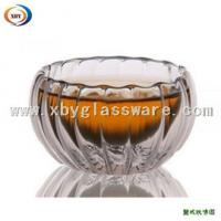 Borosilicate glass double walled glass coffee cup