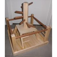 hardwood table top bird stands,for senegal and macaw,22inches Manufactures