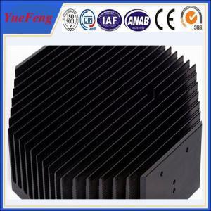 Industrial Aluminium Extrusion Product , 6063-T5 alloy Industrial Aluminium Heatsink Manufactures