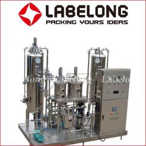 High Volume  Drink Mixer Machine , DHY Soda Water Mixer Vacuum Deoxidation Manufactures