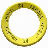 Plastic Flying Toy/Frisbee/Flying Disc in Round Ring or Triangle Shapes, Glows in Dark Manufactures
