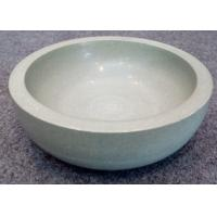 Green Solid Sandstone Bowl Inside Outside Both Polished Diameter 20cm Height 7cm Manufactures