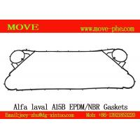 China Supply stocked NBR&EPDM alfa-laval replacement A15B,AK20,Clip6,Clip8,Clip10 plate heat exchanger plate gaskets on sale