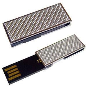 Metal Mini 8GB USB Memory Sticks Flash Drive With Key Ring Manufactures