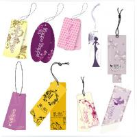 Offset Printing Custom Card Printing White Cardboard Paper Hang Tags Manufactures