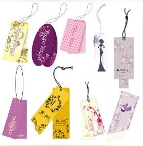 Offset Printing Custom Card Printing White Cardboard Paper Hang Tags