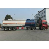 42 Ton Liquid Chemical Tank Trailer For Concentrated Sulfuric Acid Manufactures