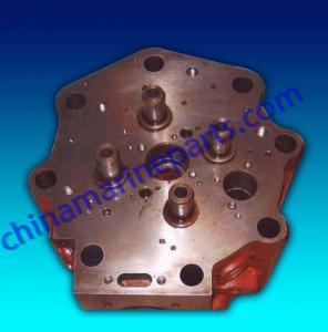 China Diesel parts Marine Diesel Generators Spare Engines Parts Cylinder head Manufactures