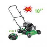 2 in 1  18 inch  Gasoline lawn mower , push lawn mower machine grass trimmer Manufactures