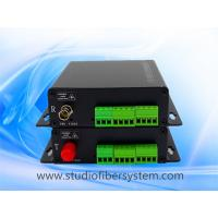 2Bidi stereo audio over fiber extenders with Phoenix interface for 2bidi encoded stereo audio to 10~120KM Manufactures