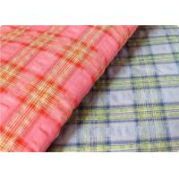 Comfortable Yarn Dyed Cotton Seersucker Fabric Cloth For Umbrella Manufactures