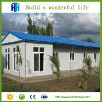Light steel structure for main framework moving prefabricated steel frame house 100 m2 Manufactures