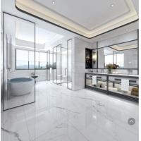 China Big Size Carrara Marble Look Ceramic Tile 300*1200 Mm Accurate Dimensions on sale