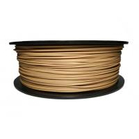 Natural 1.75MM Wood 3D Printer Filament 1kg 3kg For 3D Printers / 3D Pen Manufactures