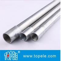 Galvanized Steel BS4568 Conduit / GI PIPE / Electrical Conductors Manufactures