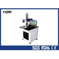 Fiber Co2 Laser Marking Machine 10w , Jewerly Silver Golden Metal Laser Marking Machine Manufactures