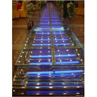 Quality FiberGlass Stage With 18mm Thickness Glass Board For Sale for sale