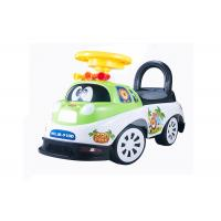 Kids Toddler Plastic Ride On Car Push Baby Walker With Backrest Non - Toxic Manufactures