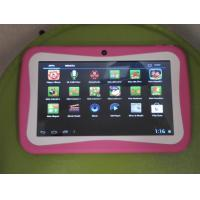 China 7 Inch Kids Learning Multitouch Tablet PC Cortex A9 1.2GHz Support 32GB Micro SD Card on sale